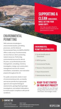 Flyer image for Environmental Permitting